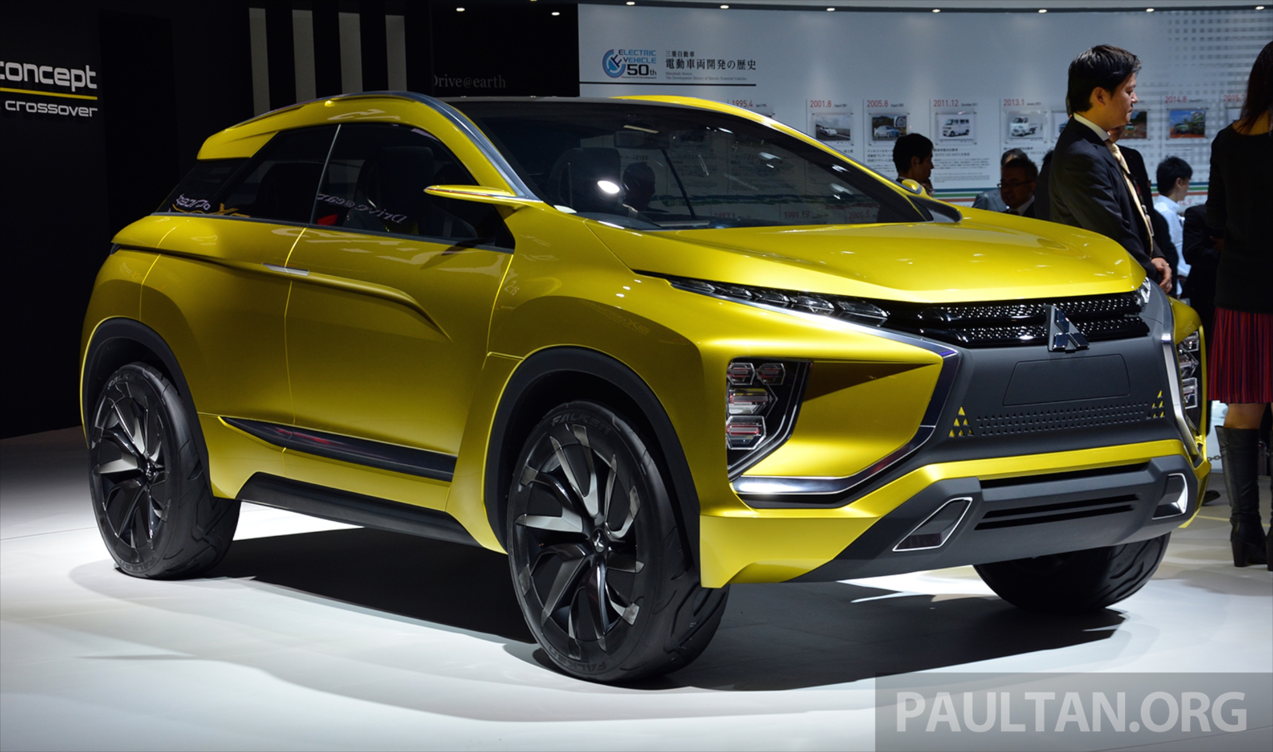 Tokyo 2015: Mitsubishi eX Concept makes world debut; all-electric SUV with 400 km cruising range ...