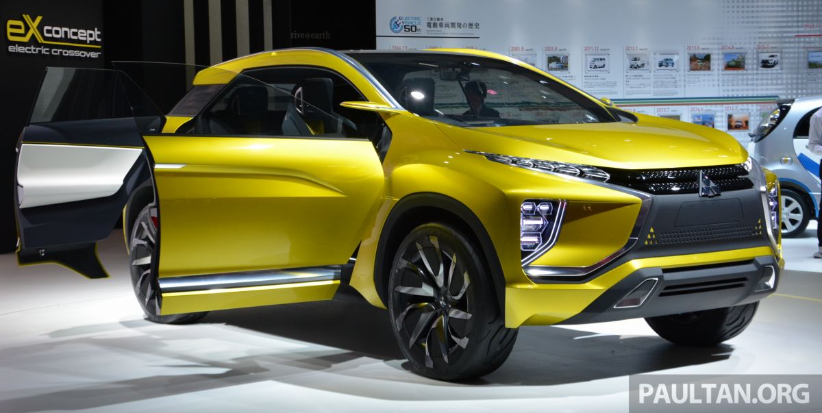 Mitsubishi Suv 2015 >> Tokyo 2015: Mitsubishi eX Concept makes world debut; all-electric SUV with 400 km cruising range ...