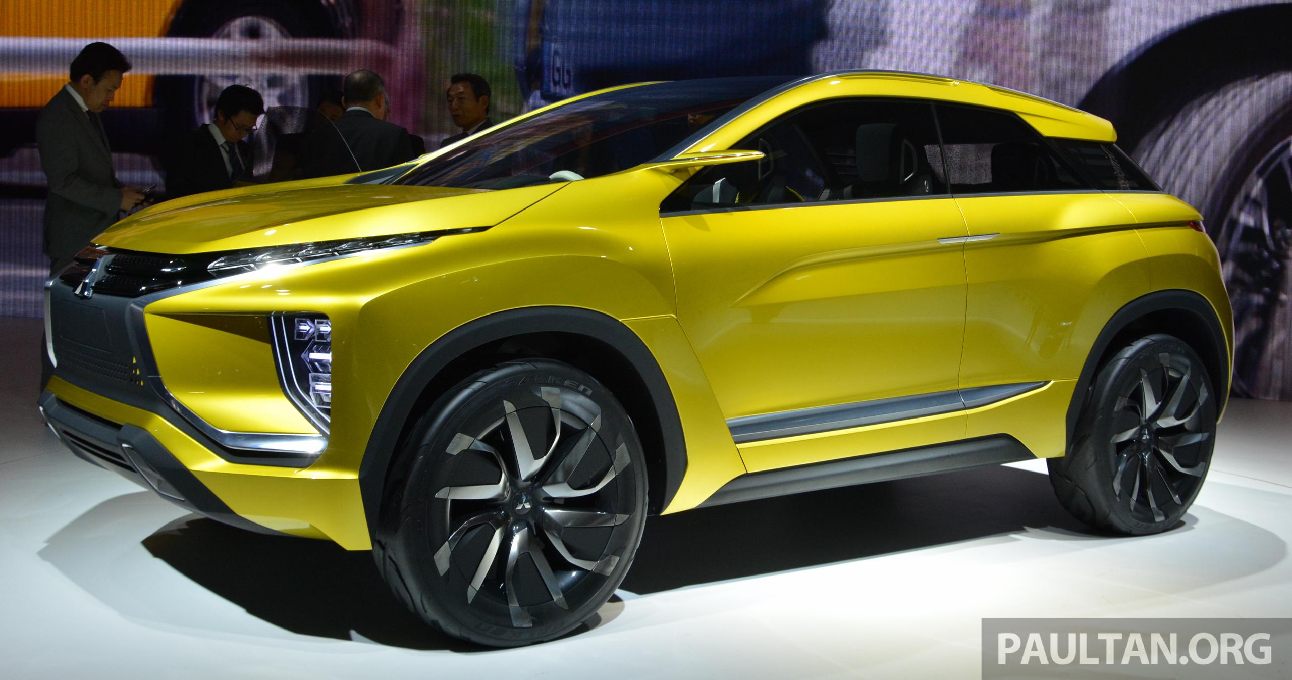 Mitsubishi Suv 2015 >> Tokyo 2015: Mitsubishi eX Concept makes world debut; all-electric SUV with 400 km cruising range ...