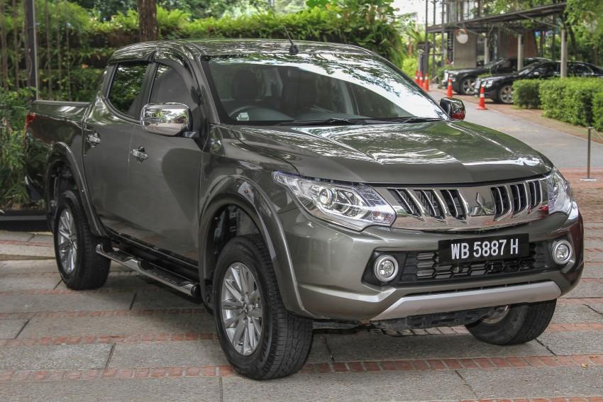 DRIVEN: Mitsubishi Triton – a truck for the big city Image #390579