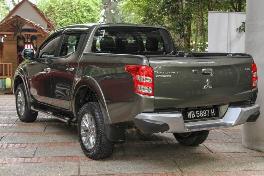 DRIVEN: Mitsubishi Triton – a truck for the big city Image #390581