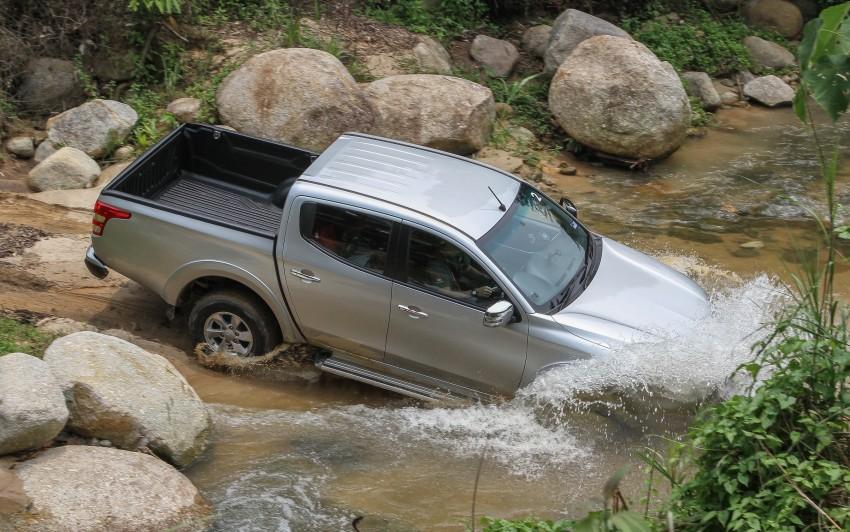DRIVEN: Mitsubishi Triton – a truck for the big city Image #390597