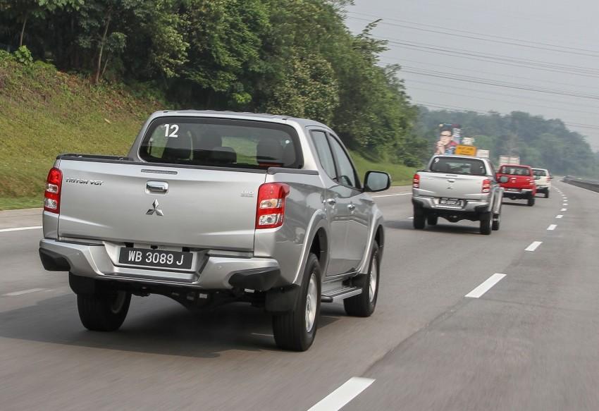 DRIVEN: Mitsubishi Triton – a truck for the big city Image #390627
