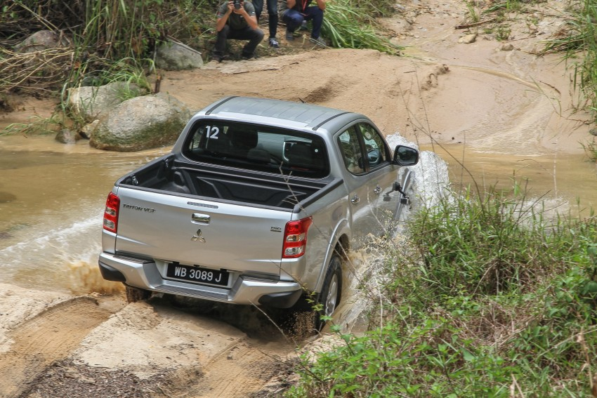 DRIVEN: Mitsubishi Triton – a truck for the big city Image #390644