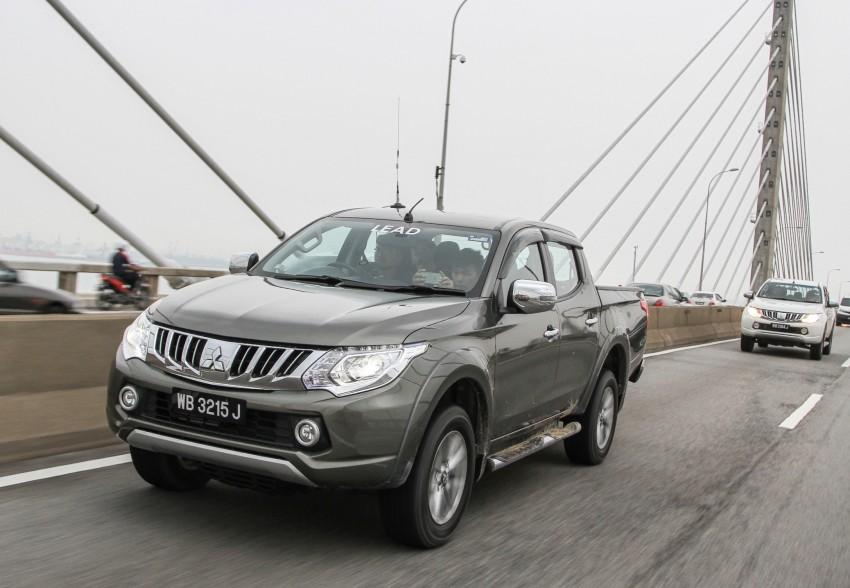 DRIVEN: Mitsubishi Triton – a truck for the big city Image #390652