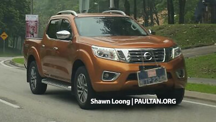 SPIED: Nissan NP300 Navara spotted undisguised! Image #390245