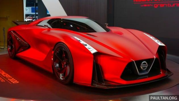 Tokyo 2015 Nissan Concept 2020 Vision Gran Turismo
