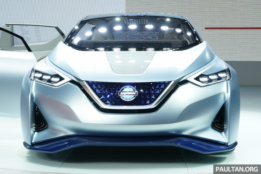 Tokyo 2015: Nissan IDS Concept – a self-driving EV Image #398585