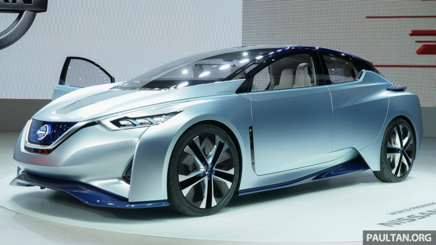 Tokyo 2015: Nissan IDS Concept – a self-driving EV Image #398593