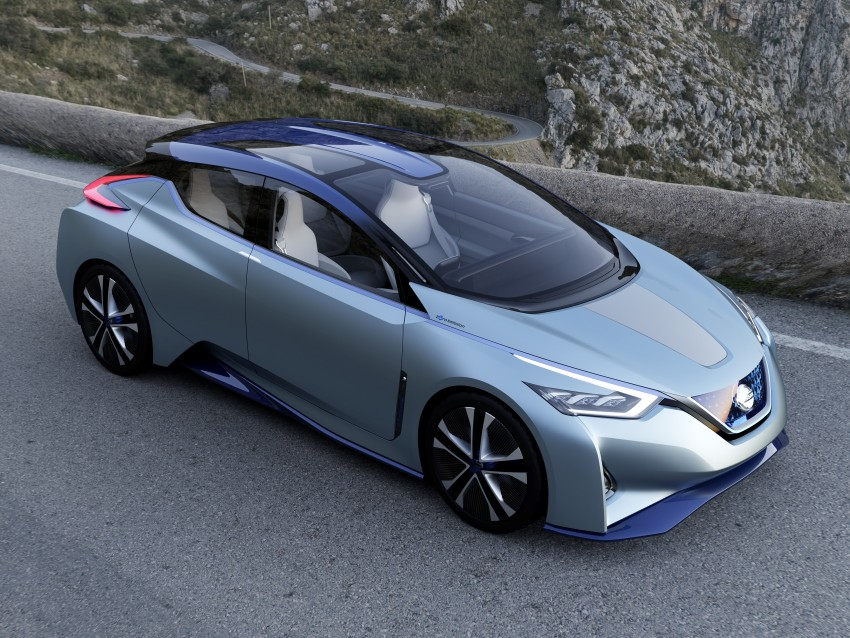 Tokyo 2015: Nissan IDS Concept – a self-driving EV Image #398310