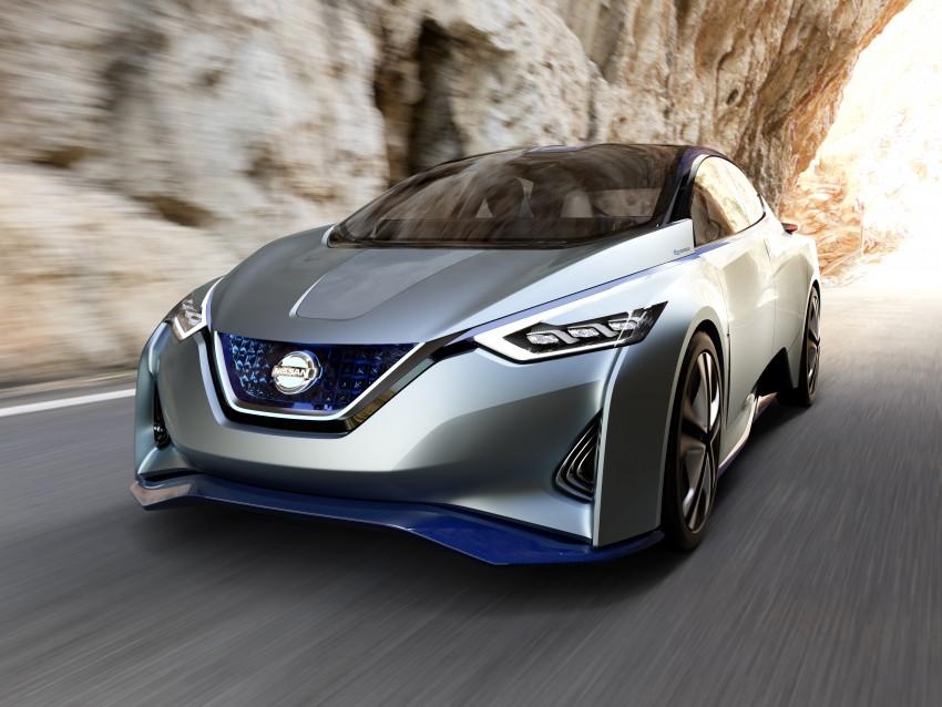 Tokyo 2015: Nissan IDS Concept – a self-driving EV Image #398313