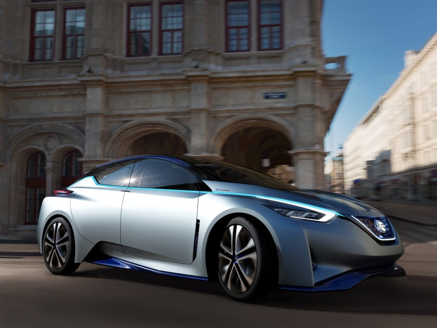 Tokyo 2015: Nissan IDS Concept – a self-driving EV Image #398316