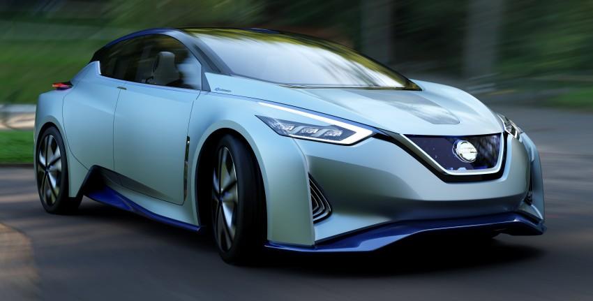 Tokyo 2015: Nissan IDS Concept – a self-driving EV Image #398317