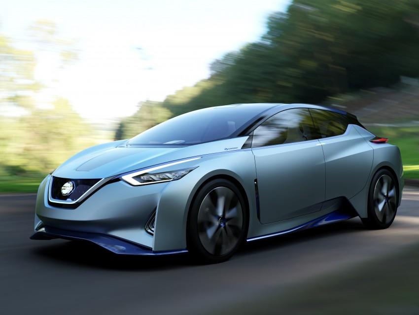 Tokyo 2015: Nissan IDS Concept – a self-driving EV Image #398318