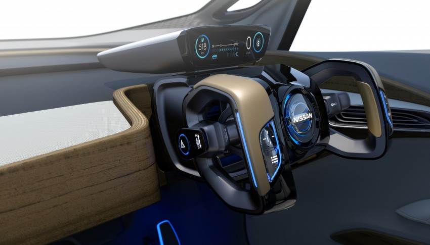 Tokyo 2015: Nissan IDS Concept – a self-driving EV Image #398348
