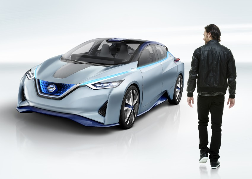 Tokyo 2015: Nissan IDS Concept – a self-driving EV Image #398369