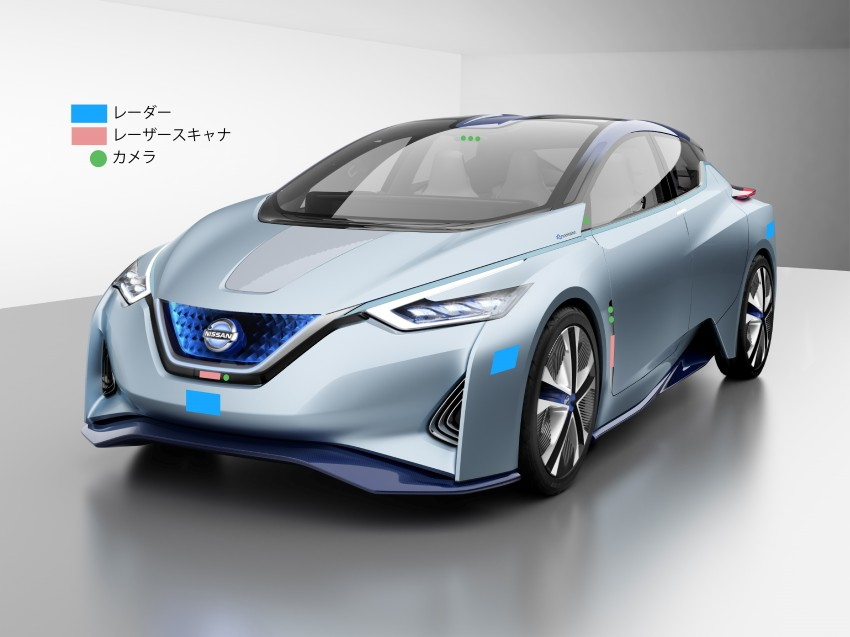 Tokyo 2015: Nissan IDS Concept – a self-driving EV Image #398375