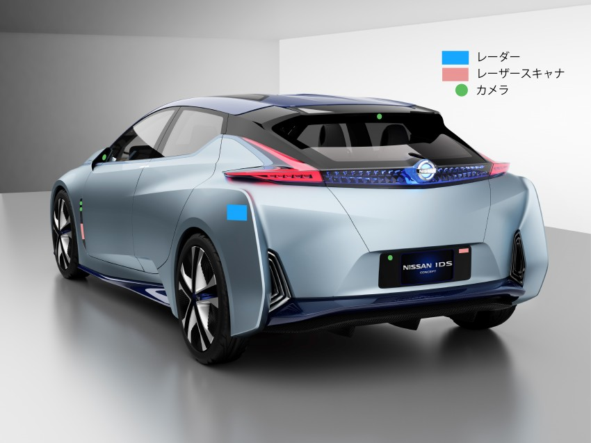 Tokyo 2015: Nissan IDS Concept – a self-driving EV Image #398376