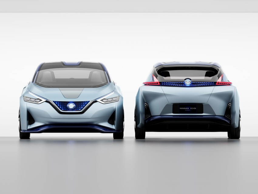 Tokyo 2015: Nissan IDS Concept – a self-driving EV Image #398307