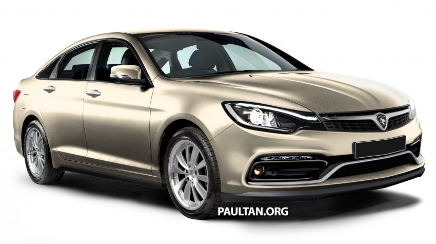 RENDERED: 2016 Proton Perdana in eight colours Image #392684