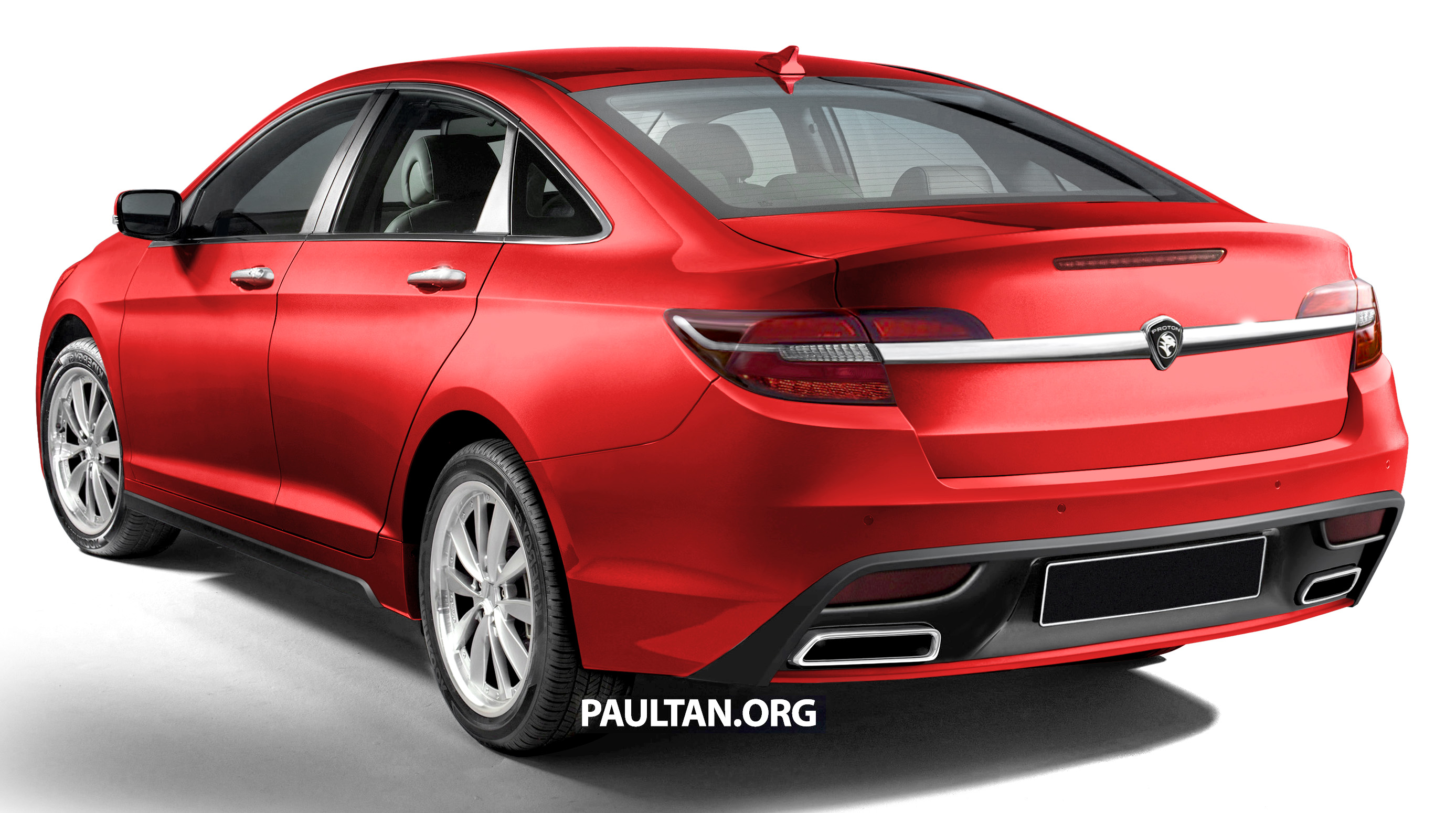 Rendered 2016 Proton Perdana In Eight Colours Paul Tan