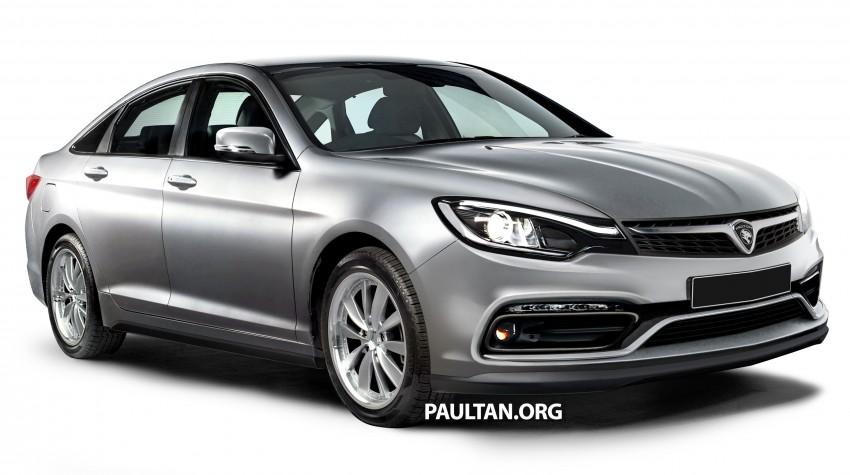 RENDERED: 2016 Proton Perdana in eight colours Image #392698