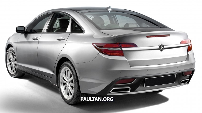 RENDERED: 2016 Proton Perdana in eight colours Image #392699