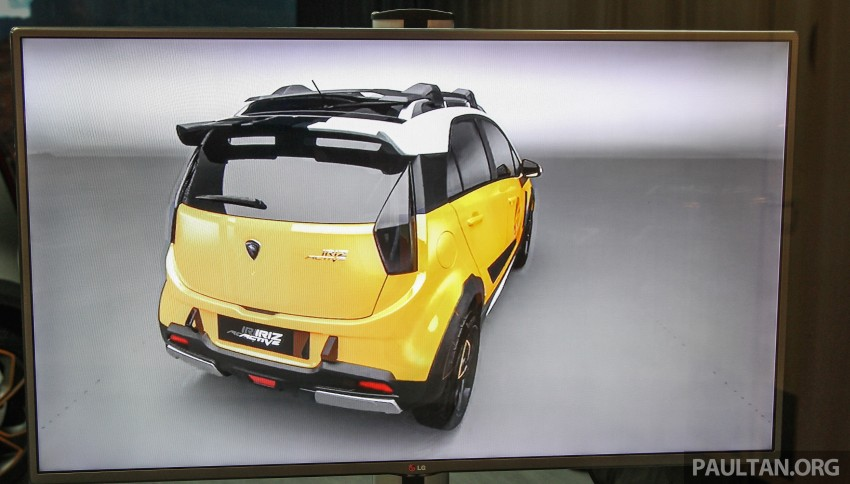 Proton Iriz Active MkII concept shown at <em>Alami Proton</em> Image #388115
