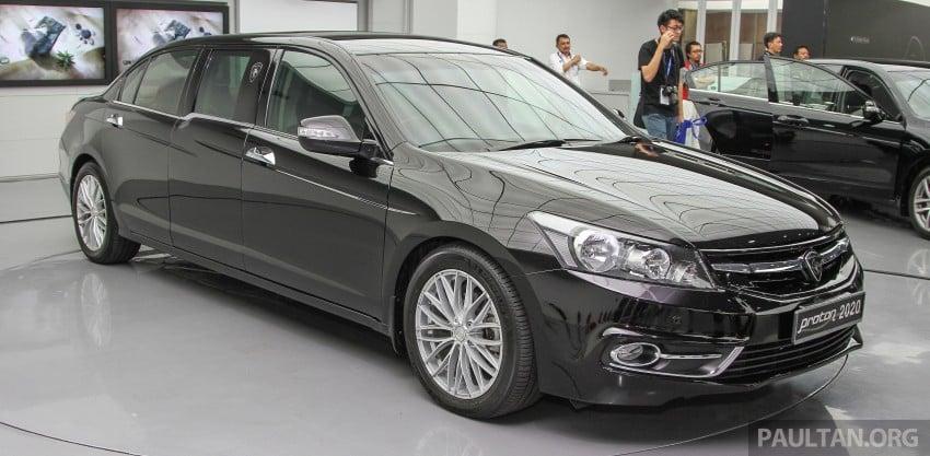"GALLERY: ""Evolution of the Perdana"" showcase stars – V6 Executive, Accordana, Tun M's stretched limo Image #387109"