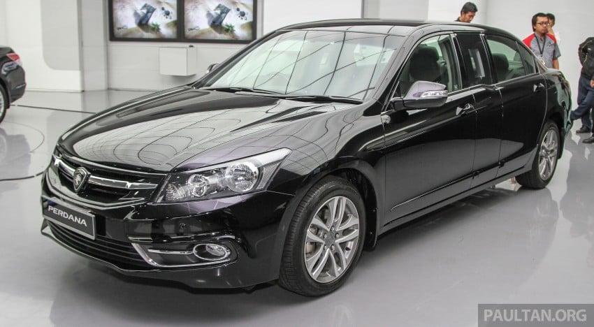 "GALLERY: ""Evolution of the Perdana"" showcase stars – V6 Executive, Accordana, Tun M's stretched limo Image #387119"