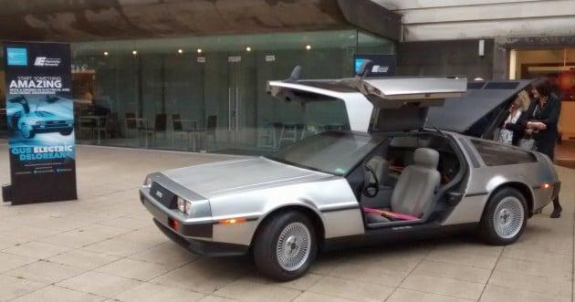 QUB Electric DeLorean 01