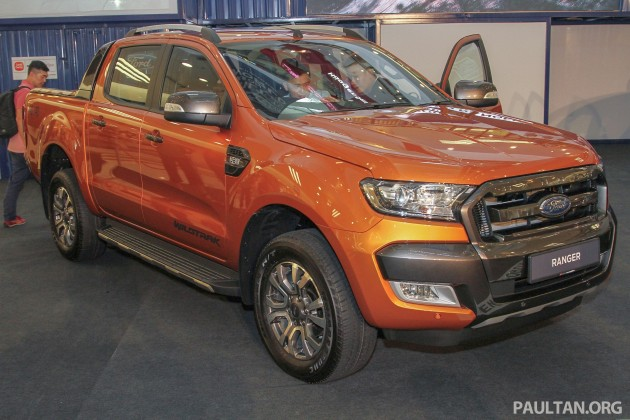 Ford Ranger 2017 >> Ford Ranger T6 facelift launched in Malaysia - six variants, 2.2L and 3.2L, priced from RM91.5k