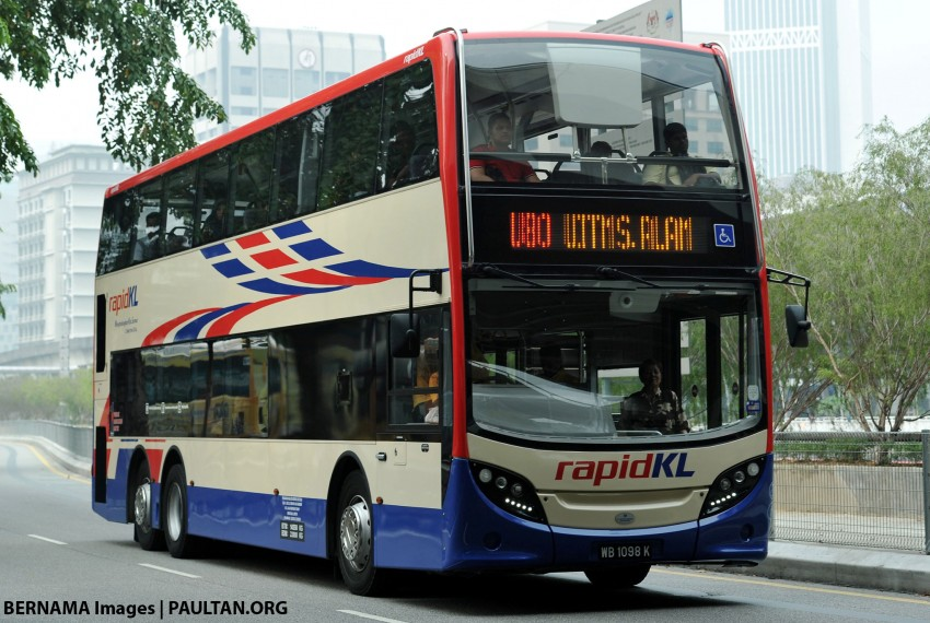 Rapid KL to investigate double-decker bus collision at Jalan Pudu underpass; deviation from original route Image #397609