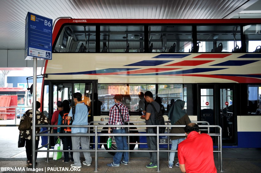 Rapid KL to investigate double-decker bus collision at Jalan Pudu underpass; deviation from original route Image #397610