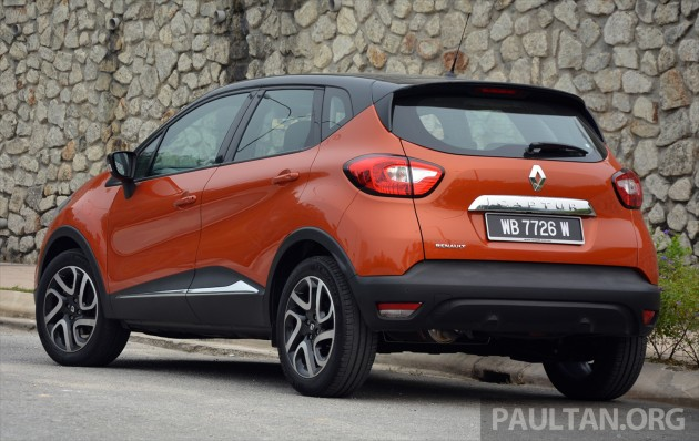 driven: renault captur - stands out, not outstanding
