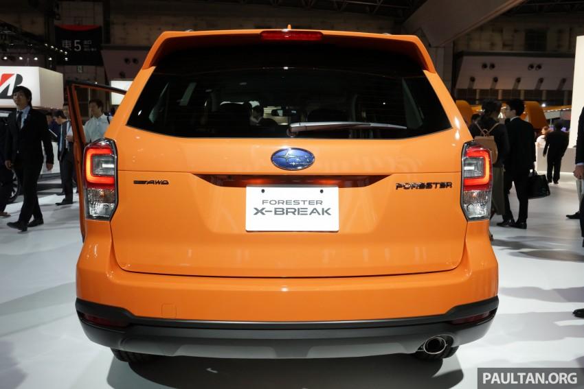 Tokyo 2015: Subaru Forester facelift on display Image #400590