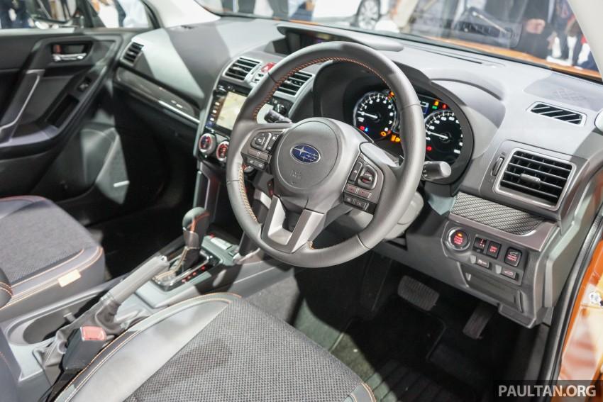 Tokyo 2015: Subaru Forester facelift on display Image #400592