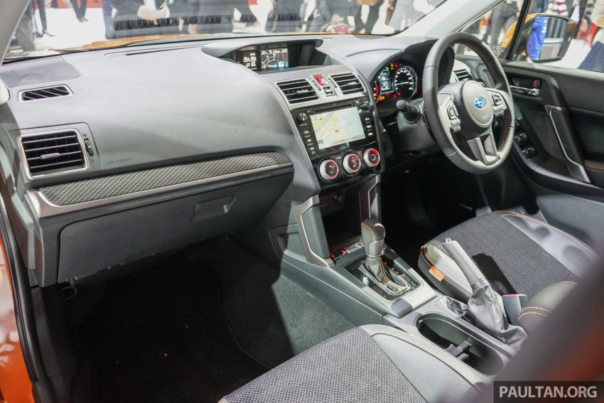 Tokyo 2015: Subaru Forester facelift on display Image #400593
