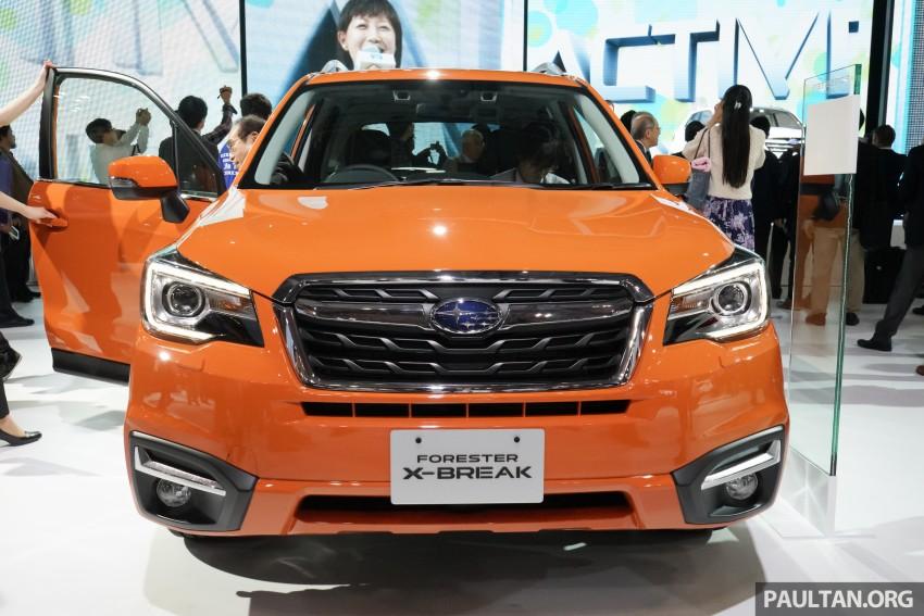 Tokyo 2015: Subaru Forester facelift on display Image #400582