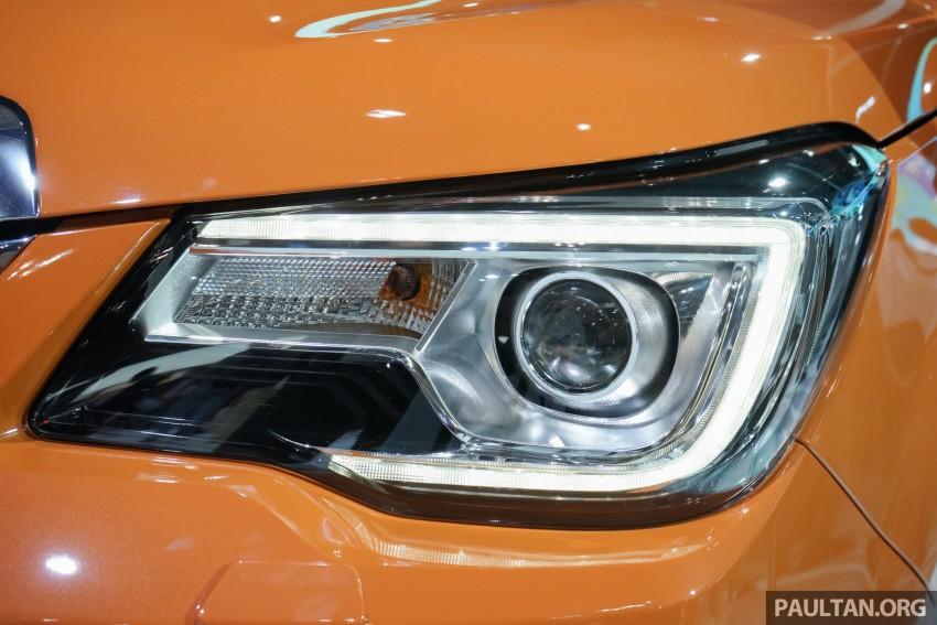 Tokyo 2015: Subaru Forester facelift on display Image #400583