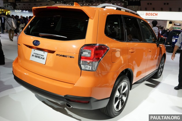 Subaru Forester Facelift 8