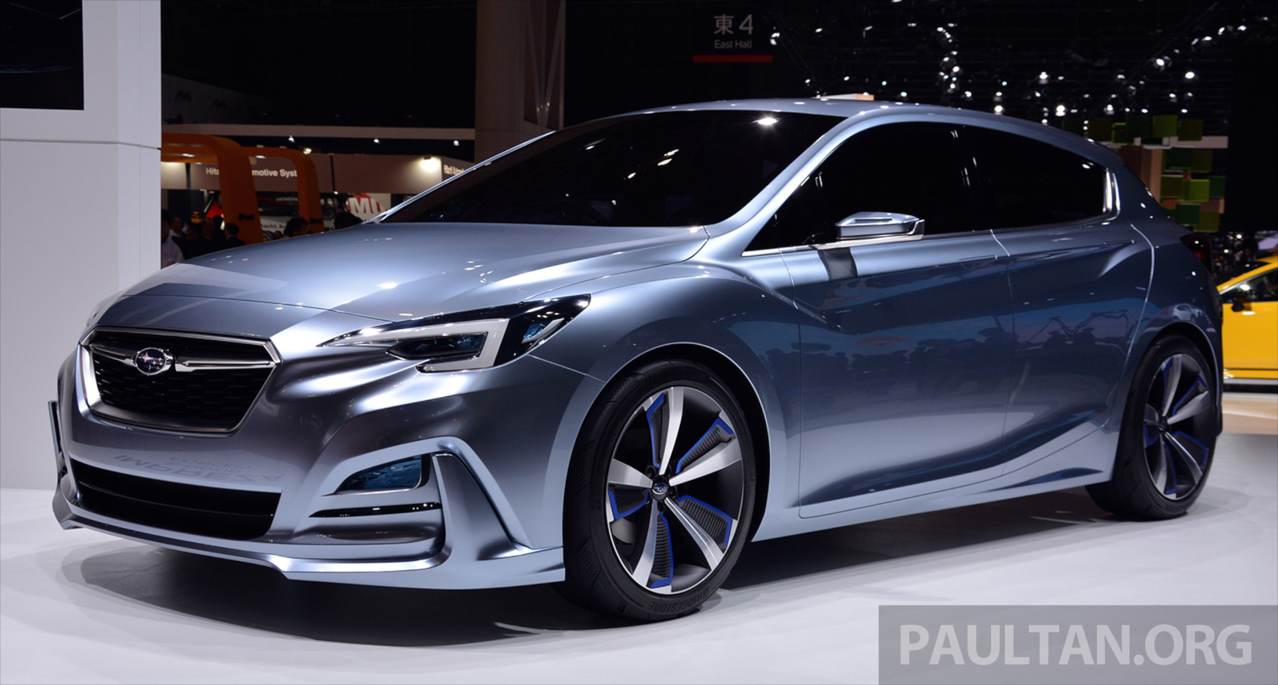 tokyo 2015 subaru impreza 5 door concept debuts. Black Bedroom Furniture Sets. Home Design Ideas