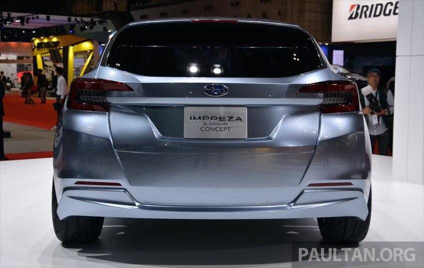Tokyo 2015: Subaru Impreza 5-Door Concept debuts Image #398057