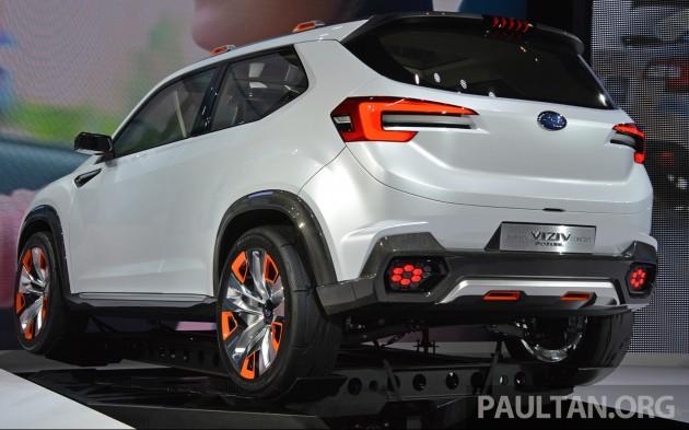 Tokyo 2015 Subaru Viziv Future Concept In The Flesh