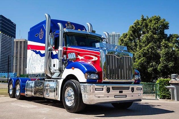 Sultan of Johor Mack truck20