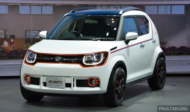 Tokyo 2015 Suzuki Ignis Trail Concept Revealed