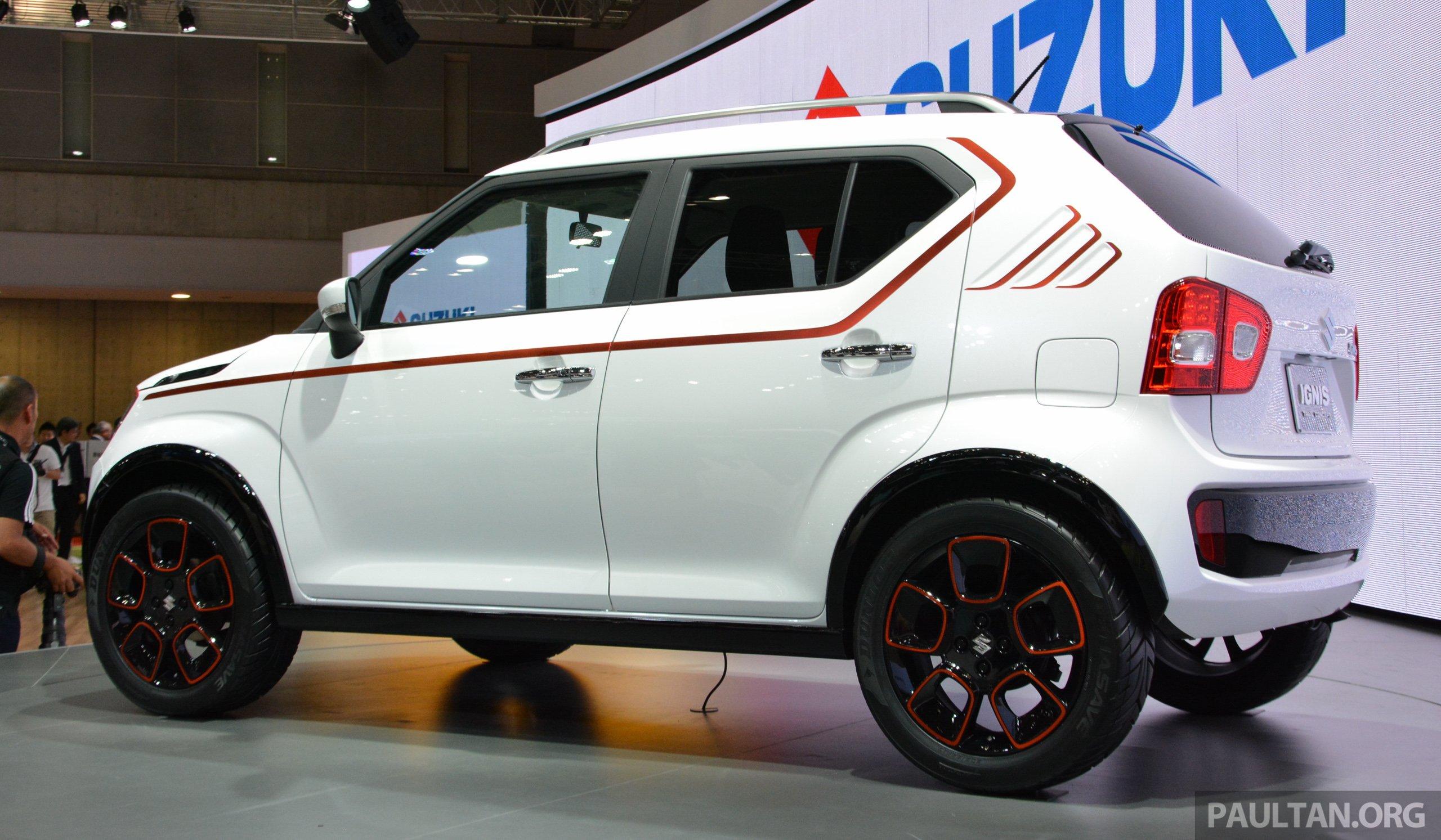 Tokyo 2015 Suzuki Ignis Trail Concept Revealed Image 399102