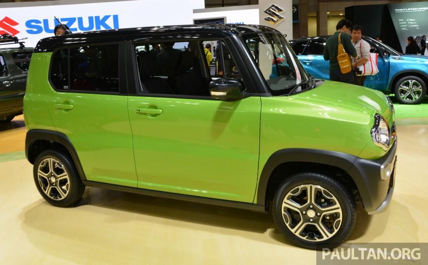 Tokyo 2015: Suzuki Hustler J Style II – facelift debuts Image #400520