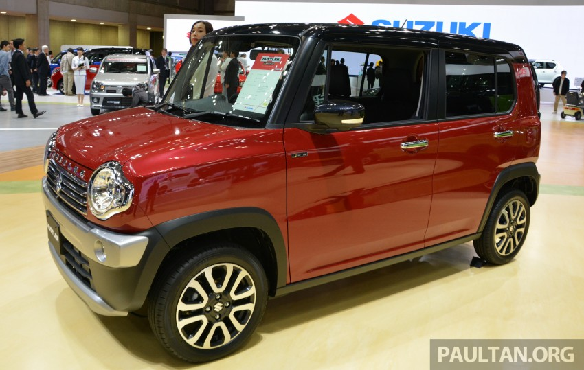 Tokyo 2015: Suzuki Hustler J Style II – facelift debuts Image #400521