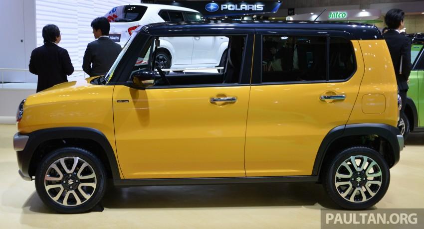 Tokyo 2015: Suzuki Hustler J Style II – facelift debuts Image #400529